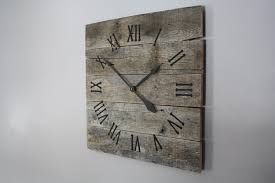 Small Picture Wall Decor Luxury Oversized Wall Clock For Modern Home