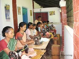 vocational training the amar jyoti trust our partners the sisters of the queen of apostles sra have established community training centres serving hundreds of tribal villages in the poorest