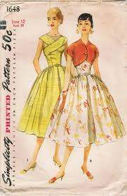 Simplicity Patterns Vintage Magnificent Dating Vintage Simplicity Patterns The 48s Formal Gown And Jacket