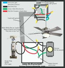 wiring ceiling fan with light ceiling fan wiring diagram 3 wire brake light diagram 3 wire