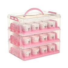 36 Cupcake Carrier Adorable MineDecor 60 Cupcake Carrier Holder 60 Tier Stackable Cake Container