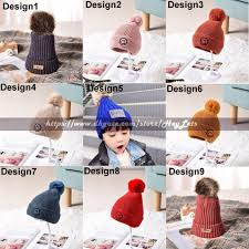 Winter Hat Designs Boys Chenille Knitted Winter Hat 34 Designs Children Winter Warm Crochet Hat With Liner Students Ski Earmuff Hat Dhl Party Supplies Wholesale Party