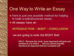 iact corporate network management week introduction iact418 918 one way to write an essay iuml129para here is just one possible method