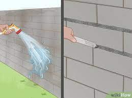 cover exterior cinder block walls