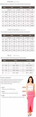 Bust Size Chart Women How Reliable Is The Size Chart In Flipkart Quora
