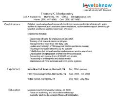 Customer Service Resume Samples Lovetoknow Best Photo Gallery For