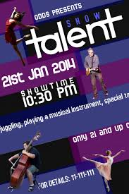 Talent Show Flyer Design Talent Show Flyer Template Magdalene Project Org