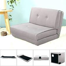 flip out chair fold down chair flip out lounger convertible sleeper bed couch game dorm gray flip out chair