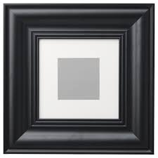 black picture frame. IKEA SKATTEBY Frame Front Protection In Plastic Makes The Safer To Use. Black Picture E