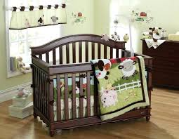 animal crib bedding woodland