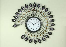 2016 new trend of modern home decor clocks peacock wall decor to make your home full of vitality and color art small wall clocks small wall clocks for