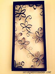 Flower Wall Art Decor Amazing Delightful DIY Paper 6 Diy Paper Home Decor