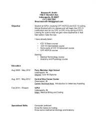 Downloadable Resume Format Stunning Free Download Sample Medical Coding Resume Format Resume Ideas Www
