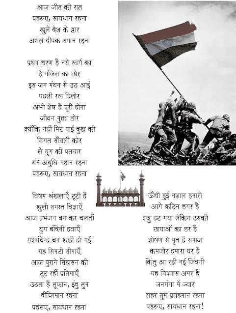 desh bhakti poems in hindi by rabindranath tagore