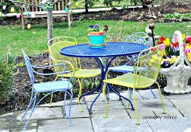Walmart Wrought Iron Patio Furniture Antique Wrought Iron Patio