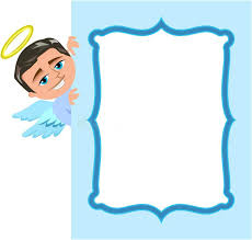 angel picture frame angel boy frame stock vector ilration of clip angel photo frame ornaments