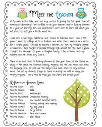 letter from teacher to parents welcome back letters with a twist school teacher and pre school