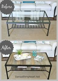diy ing our basic brick ranch into the cottage of our dreams part 8 beneath my heart ikea s coffee tableikea
