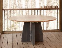 meridian pedestal dining table