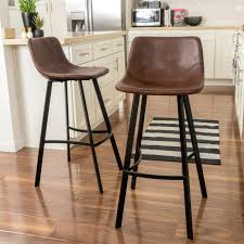 brown bar stool brown leather bar stools uk