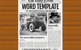 Harry Potter Newspaper Template Create Your Own Newspaper Template Serpto