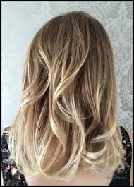 Balayage Kurze Haare Blond Unique Ombré