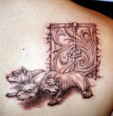 тату цербер где такая татуировка будет смотреться хорошо