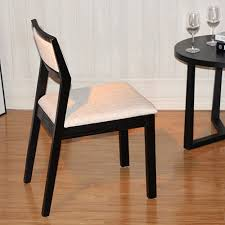 ash wood upscale all linen dining chair man chi chis simple sharp black leather ch177 natural side chair walnut ash