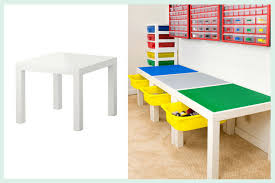 We got a few years … Lego Play Table With Drawer Storage Ikea Hackers