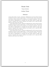 how to write a thesis in latex pt customising your title page  this concludes our series on writing a basic thesis if you want to play around the thesis we ve created in this series you can open the project in