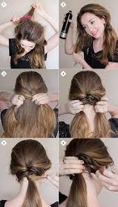 easy diy hairstyles for um and long hair1 1