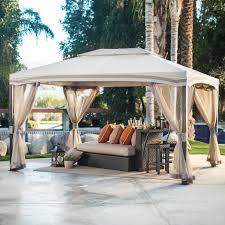 Cabin Style Garden House Canopy Gazebo | Hayneedle