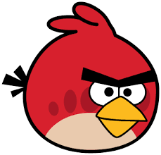 379x364 how to draw red angry bird from angry birds games with easy steps