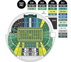 Autzen Stadium Seating Chart Oregon Ducks Seating Chart Related Keywords Suggestions