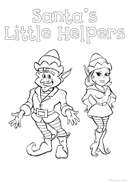 Fresh Coloring Pages Elf On The Shelf Download Coloring Pages For Free
