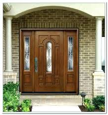 glass panel exterior door brilliant front matching composite side panels in 14 interior