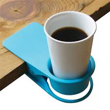 desk cup holder drink clip