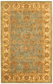 safavieh heritage hg811b blue beige area rug