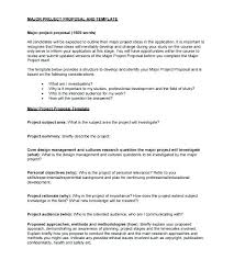 Word Template For Proposal It Project Proposal Template Get Free