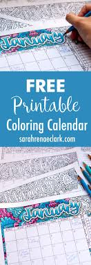 2017 Free Printable Calendar With Bonus