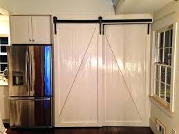 barn door kitchen interior sliding doors adjust an pantry