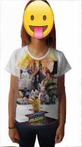 Camisa Personalizada Detetive Pikachu O Filme 3 Pokemon no Elo7 ...