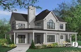 Lakefront Home Designs from DrummondHousePlans.com