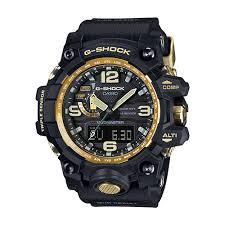 casio mudmaster men s black gold watch hugh rice jewellers feature image