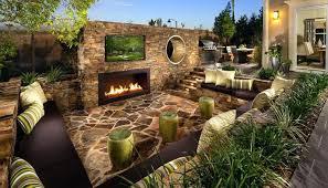Backyard Patio Designs With Fireplace Backyard Patio Ideas 20