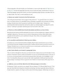 Cover Letter Introduction Paragraph Sample Cover Letter Opening