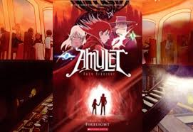 amulet 7 firelight by kazu kibuishi