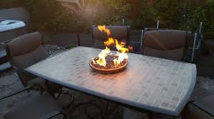 propane table fire pit diy glass fire pit ship design withtable pretty