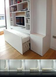 Beds Wall Mounted Pull Out Beds Ideas Of Space Saving For Small throughout  proportions 800 X