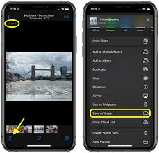 live photos on iphone and ipad